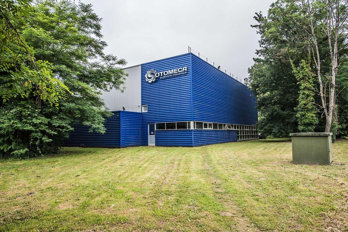 façade usine SOTOMECA